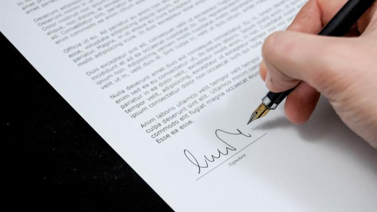 Signature promesse promoteur